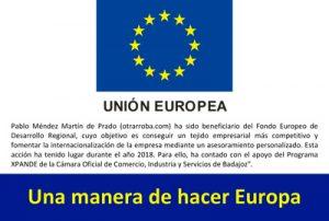 Programa XPANDE Digital, de la Cámara de Comercio de Badajoz, con fondos FEDER